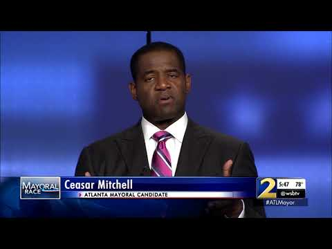Atlanta Mayor Race: Ceasar Mitchell on City Hall corruption