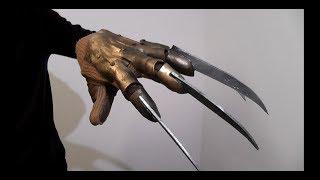 Как сделать перчатку Фредди Крюгера (часть 1)