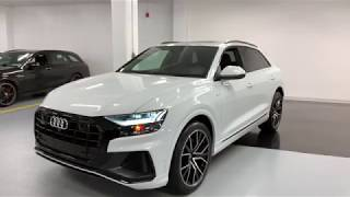 2019 Audi Q8 Technik BLACK OPTICS - Walkaround in 4k