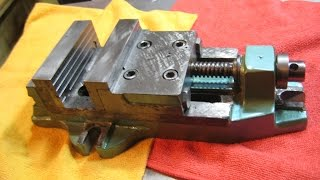 Капитальный ремонт станочных тисков