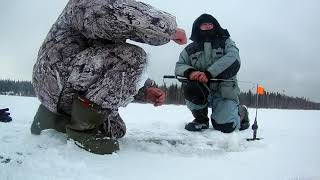 Зюраткуль озеро рыбалка зимняя