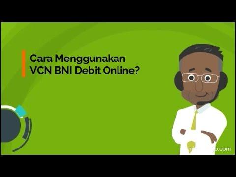Cara Menggunakan VCN BNI Debit Online?
