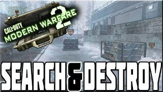 SEARCH & DESTROY ON MODERN WARFARE 2!
