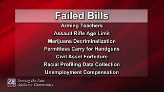 Alabama Lawmakers End Legislative Session