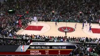 Final 2 Minutes Of New York Knicks Vs Toronto Raptors (Linsanity)