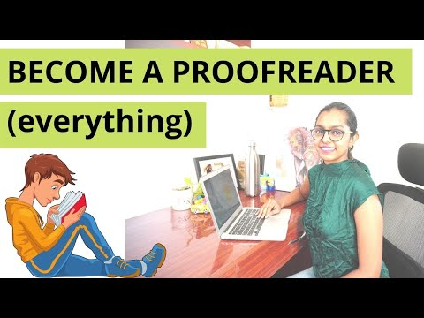 BECOME A PROOFREADER ONLINE & FIND ONLINE PROOFREADING JOBS NO EXPERIENCE ONLINE | WORK FROM HOME