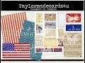 USA inspired Card - Passport to Freedom