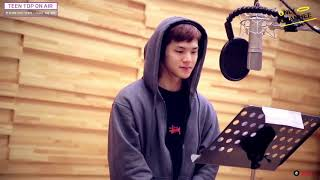 [ENG SUB] TEEN TOP ON AIR - First Drama OST 'Switch - Change the World' Recording Venue