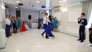 Свадебный батл на русско-бурятской свадьбе. Танцевальный конкурс