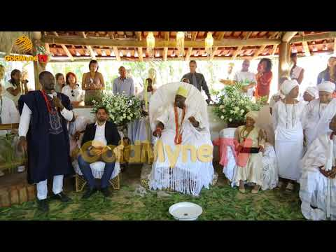 OONI OF ILE IFE TELLS THE IMPORTANCE OF OSUN DURING VISIT MINAS GERAIS IN BRAZIL