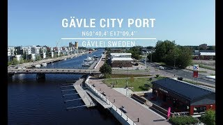 Safe approach to Gävle port, Sweden