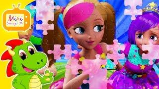Barbie W Świecie Gier Puzzle Dla Dzieci Z Bajki | Gry Zabawki Filmik Dla Dzieci [HD]
