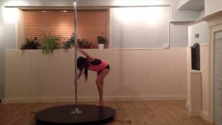 Feeling Good - Beginner / Intermediate Pole Dance Routine