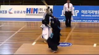 2011 미르치과기대회 1부 개인전 준결승 - 이윤영 vs 전가희