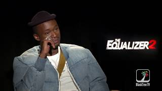 Ashton Sanders says Lebron James could be the Equalizer for the Lakers - The Equalizer 2 Interview