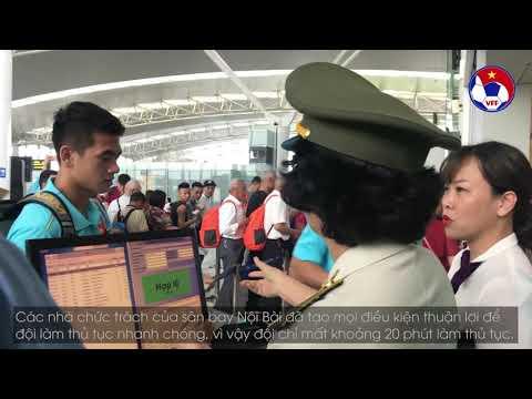 ĐTVN lên đường sang Thái Lan chinh phục chiếc cup vàng mang tên King's Cup 2019