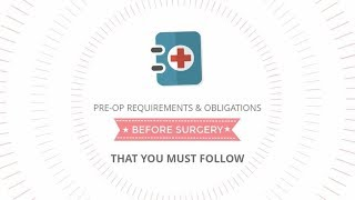 MYA Cosmetic Surgery Pre-Operative Instructions
