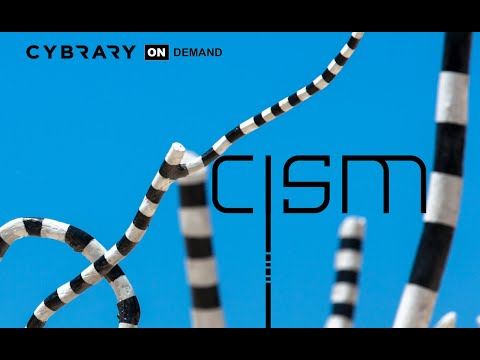 Certified Information Security Manager | CISM Certification | Lesson ...