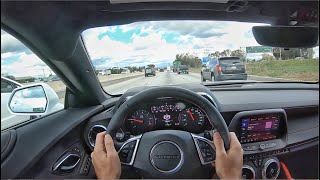 2020 Chevrolet Camaro 2SS V8 POV Drive (3D Audio)(ASMR)