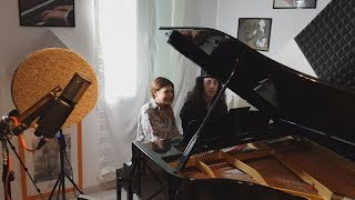 Emilia Di Pasquale featured on 'One Day In Heaven' 4-hand Piano version [behind-the-scenes]