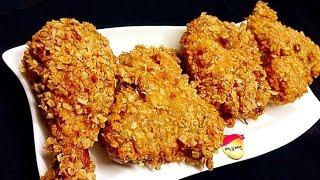 Kerala Fried Chicken/ Oats Coated Chicken Fry / KFC