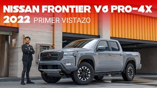 Nissan Frontier V6 PRO-4X 2022, primer vistazo: un cambio radical que la hace apuntar a lo más alto