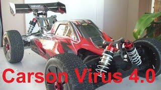 Carson Virus 4.0 / Vorstellung / erste Fahrt / Fahreindrücke