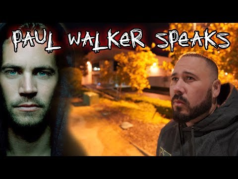 (Accident Site) Paul Walker's Ghost Speaks To Me - 4K