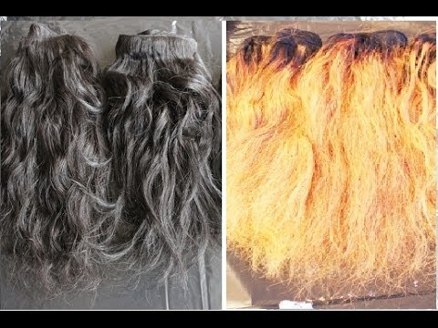 The Quick And Easy Way To Bleach Weave