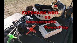 ImmersionRC Powerplay vs Fatshark HDO DVR test - team #bckflp - sponsored by