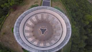 Butte de Montsec, American Monument, FPV drone footage