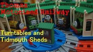 Thomas And Friends Motorized Railway Build Packs Tidmouth Sheds And Turntables Unbagging Review