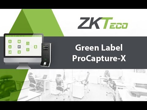 Green Label - ProCapture X