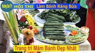 Hội thi gói Bánh Răng Bừa  - Đặc sản xứ Thanh.