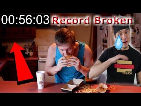 I Beat Matt Stonie's Record! (The Grand Mac Meal Challenge)