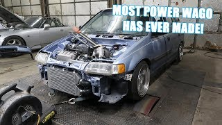Wago Makes Some POWER On The Dyno!