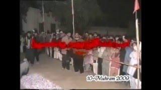 """Azadari.2008-9 Kot Mir Muhammad """" AAg per 10-Muharram night Matam2008"""""""
