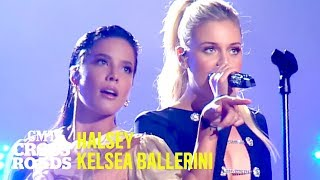 Halsey & Kelsea Ballerini Perform 'Without Me' | CMT Crossroads