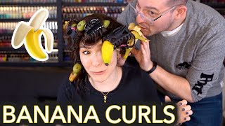 Curling My Hair With Bananas thumbnail