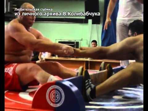 Вязьмич В.Колибабчук вновь стал чемпионом по мас-рестлингу