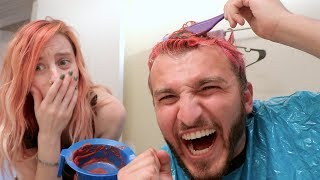 DYING MY OWN HAIR (BAD IDEA)