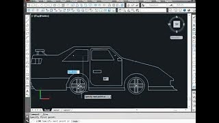 car design in autocad 2d with dimensions - Thủ thuật máy