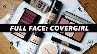 FULL FACE Using COVERGIRL: Perfect MATTE Foundation Routine! | Jamie Paige