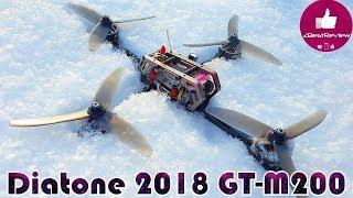 "✔ Необычная FPV Рама - ""Плюс"" Diatone 2018 GT-M200 Normal Plus! Новый Проект) Banggood"