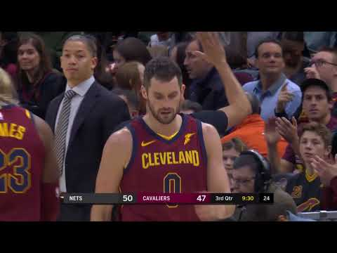Brooklyn Nets vs. Cleveland Cavaliers - November 22, 2017