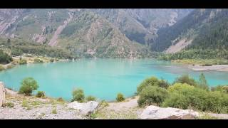 preview picture of video 'My Kazakhstan trip - Part 02 - Lake Issyk - Озеро Иссык'