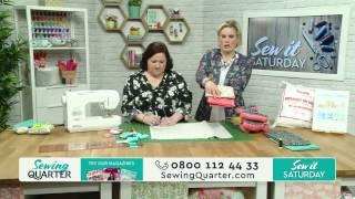 Sewing Quarter - Sew It Saturday Kaffe Fassett Quilt 1st April 2017