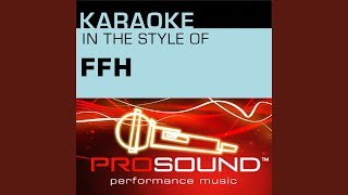 Open Up The Sky (Karaoke With Background Vocals) (In the style of FFH)