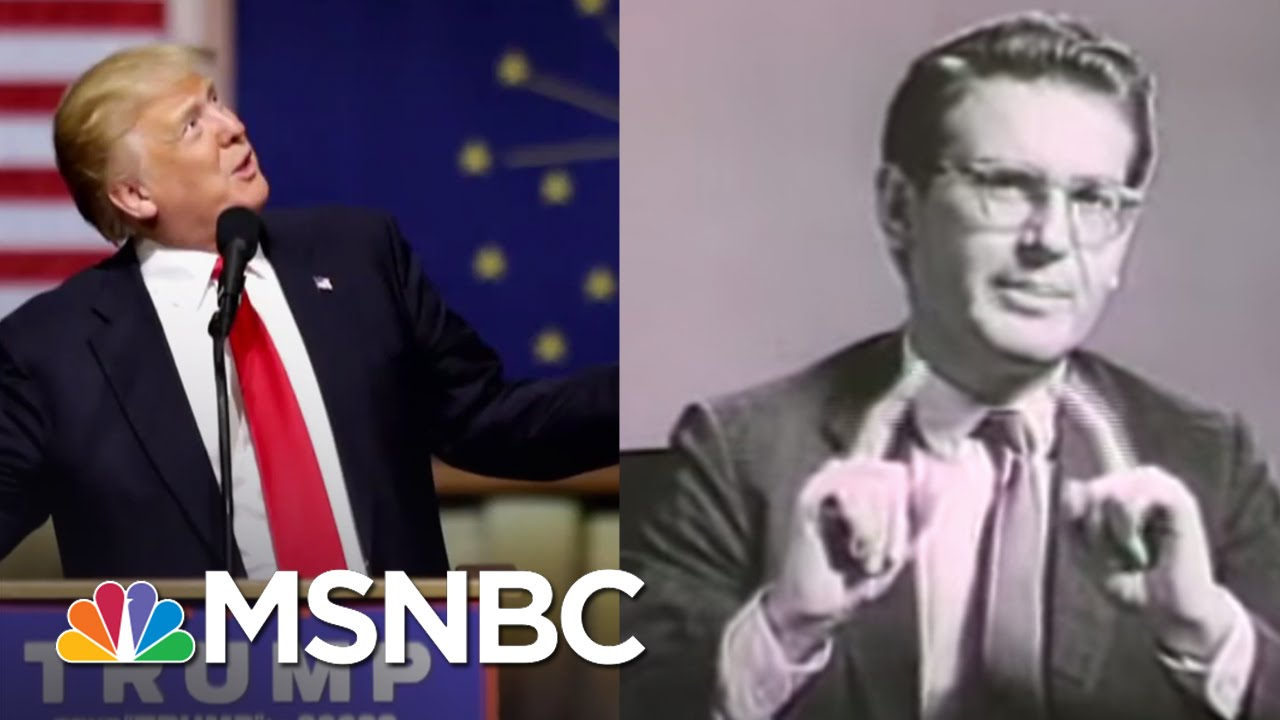 Echoes Of Barry Goldwater Seen In Donald Trump Campaign | Rachel Maddow | MSNBC thumbnail