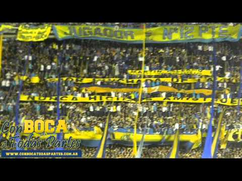 """""""Tema nuevo: Antes que te vayas al descenso"""" Barra: La 12 • Club: Boca Juniors • País: Argentina"""